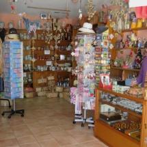 Tienda de recuerdos del Valle del Jerte