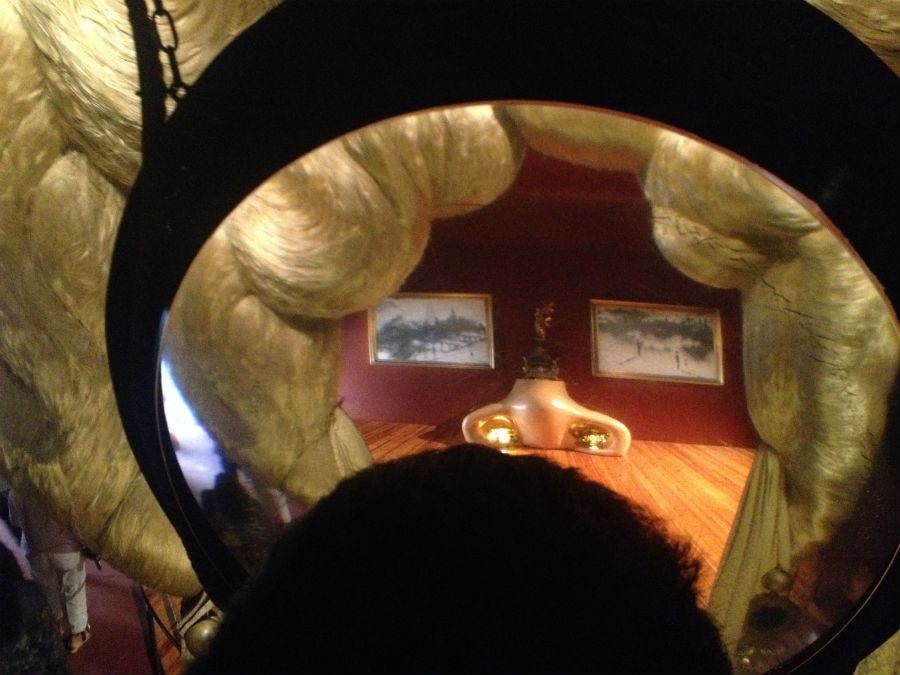 Habitación de Mae West, por Dalí