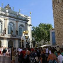 Museo Dalí Figueras: colas de espera