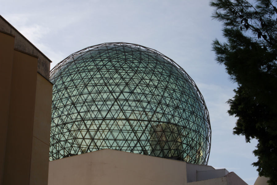 Cúpula del Museo Dalí de Figueras