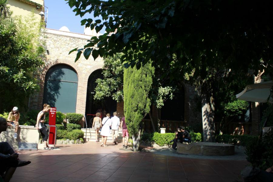 Patio interior del Museo Dalí de Figueras