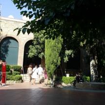 Museo Dalí Figueras: patio interior