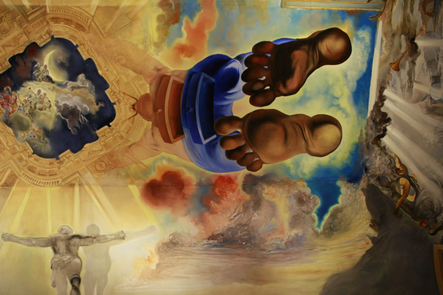 Museo Dalí Figueras: trampantojo