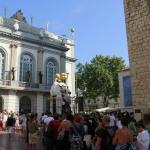 Afluencia de público en el Museo Dalí de Figueras