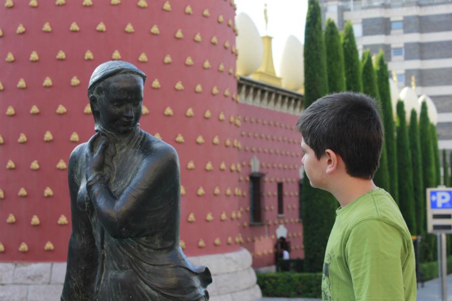 Alrededores del Museo Dalí de Figueras