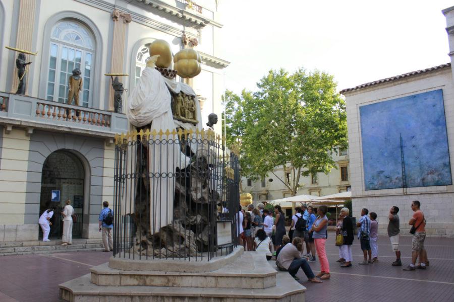 El Museo Dalí de Figueras está siempre concurrido