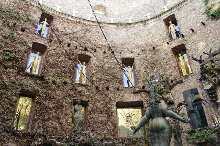 Edificio del Museo Dalí de Figueras