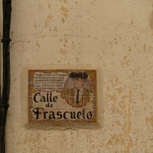 Calle Frascuelo de Chinchón