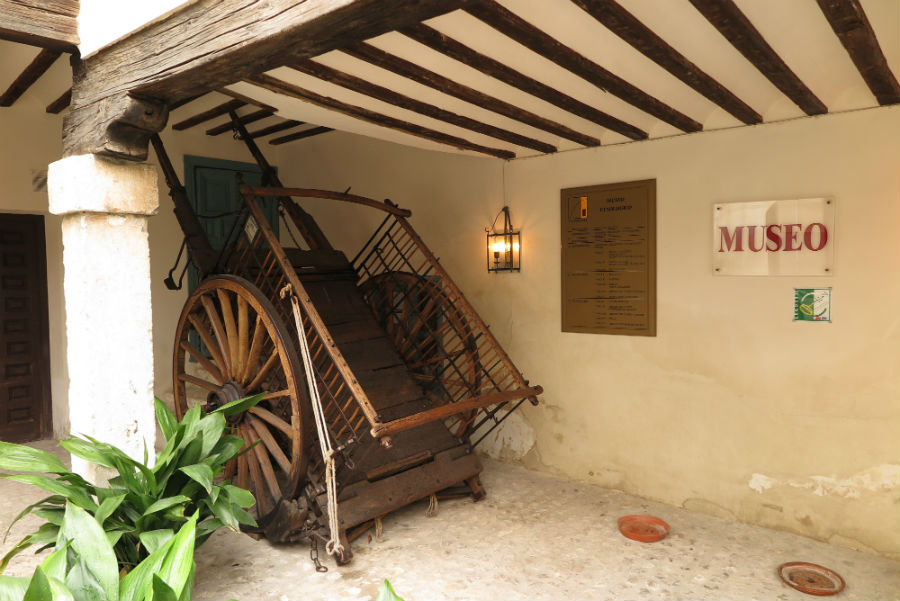 Mesón Cuevas del Vino, en Chinchón