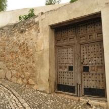 Puerta típica de Chinchón