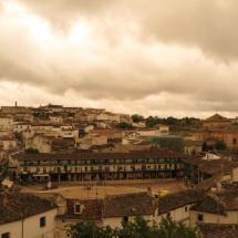 Vista general de Chinchón