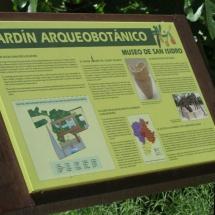 Jardín del Museo de San Isidro