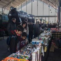 Mercadillo de juguetes Museo del Ferrocarril