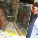 Vitrina del Museu del Joguet de Catalunya