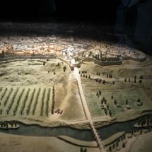 Maqueta en el Museo de San Isidro