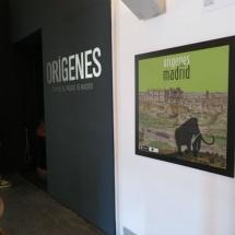 Acceso al área arqueológica del Museo de San Isidro