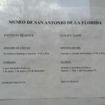 Horarios de San Antonio de la Florida