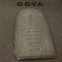 Tumba de Goya