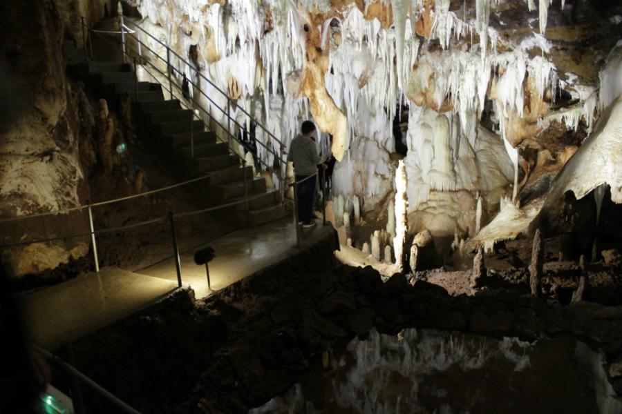 Visitamos las Cuevas del Águila con los niños