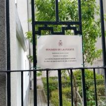 Horarios de la Fuente de San Isidro