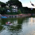 Plan para navegar por el lago de la Casa de Campo de Madrid