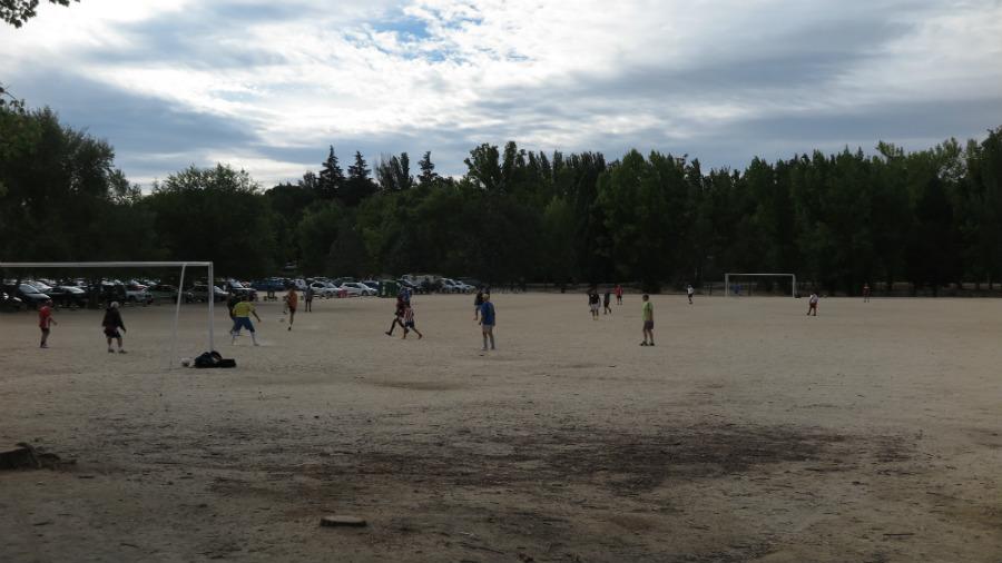 Zona deportiva de la Casa de Campo