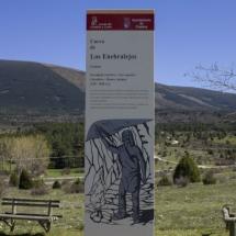 Entorno de la Cueva de Los Enebralejos, en Prádena