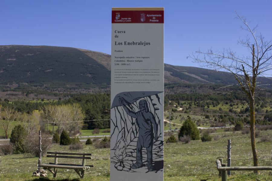 Cueva de Los Enebralejos, en Prádena