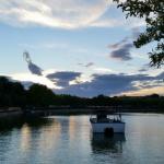 Barcas navegando por el lago de la Casa de Campo