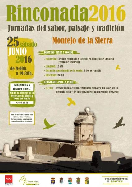 Cartel de la Rinconada 2016
