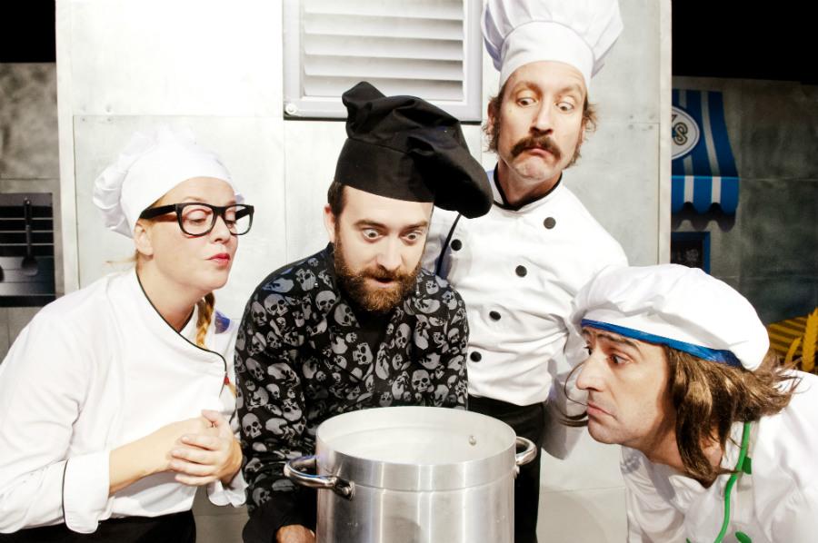 'Chefs', de Yllana, teatro para niños.