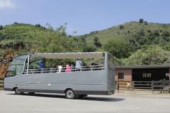 Bus de visita guiada en Cabárceno