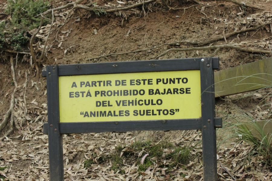 Sigue las normas en tu visita a Cabárceno con los niños