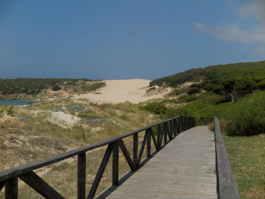 Ruta por la duna de Bolonia