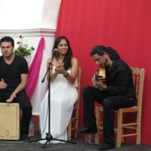 'La Toñi' es la cantaora principal de Flamenco en el Patio
