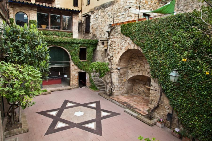 Estrella de David en el Museo de Historia de los Judíos de Girona