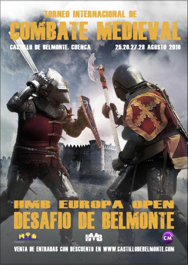 Cartel_II Torneo Internacional de Combate Medieval