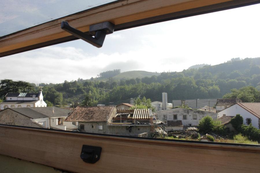 Vistas desde la Casa Rural Corral Mayor, en La Serna, Cantabria