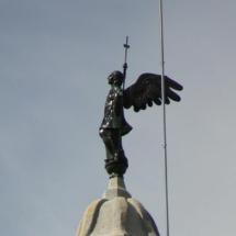 El ángel de la catedral de Girona