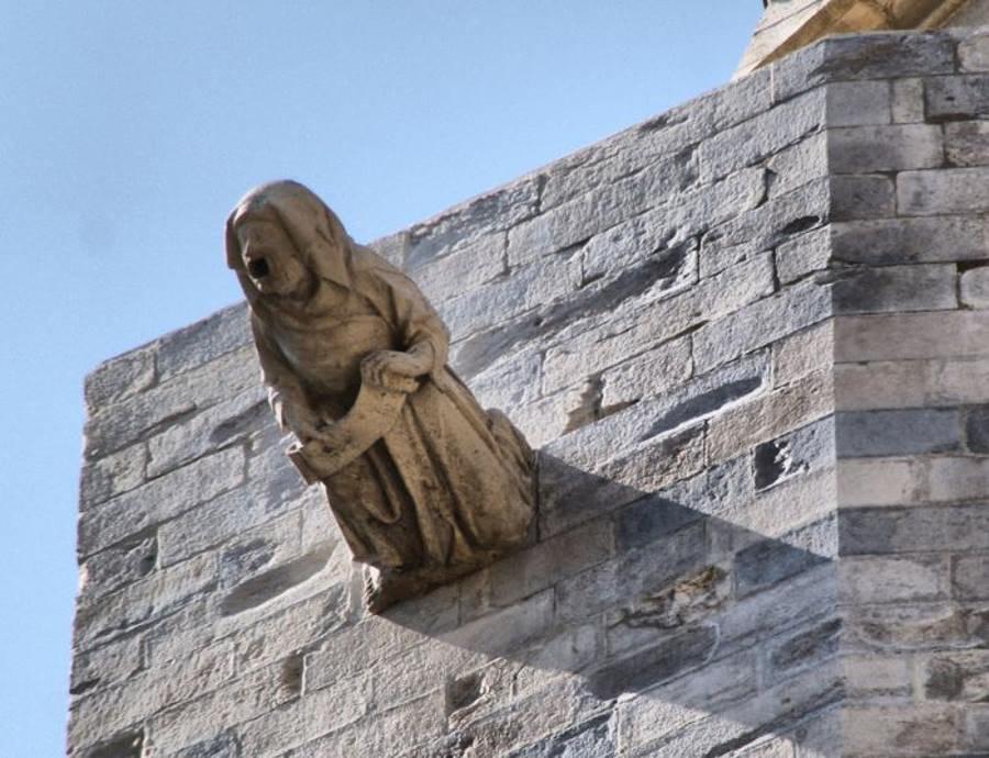 La bruja de piedra de la catedral de Girona