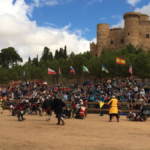 Combates medievales en el Castillo de Belmonte, Cuenca, del 25 al 28 de agosto de 2015