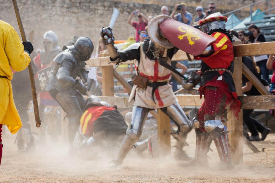 Imagen del Torneo Internacional de Combate Medieval 2015
