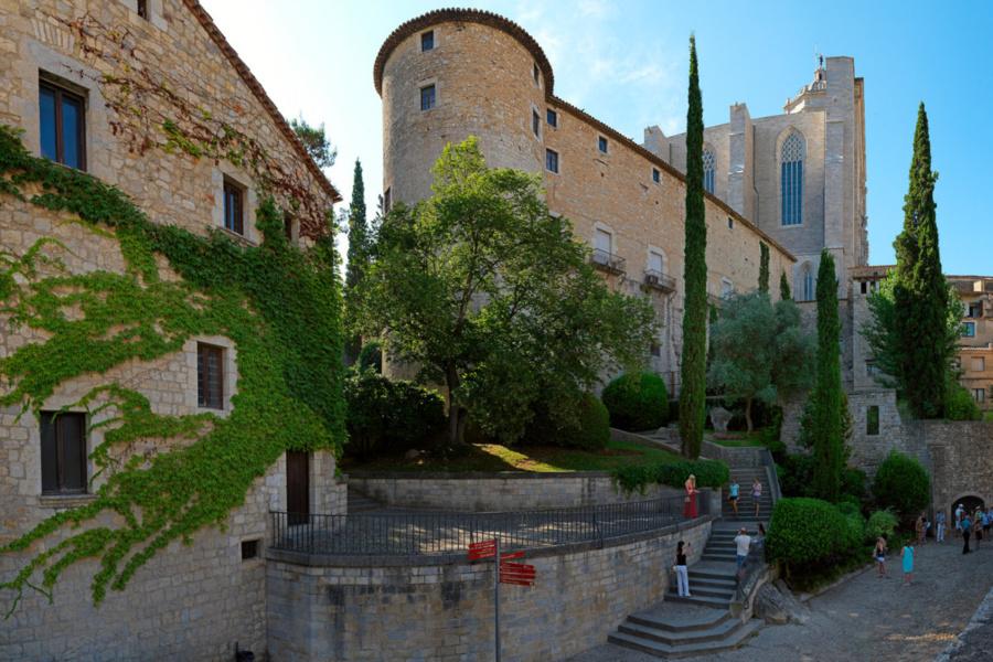 Edificio de los Baños Árabes de Girona