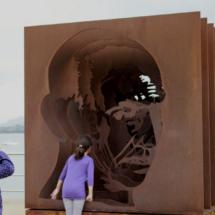 Escultura urbana en Santander