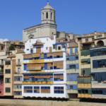 Qué son las casitas de colores de Girona