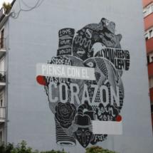 Graffiti urbano en Santander