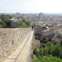 Vistas de la Muralla de Girona