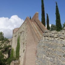 Tramo de la Muralla de Girona