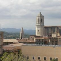 Vistas desde la Muralla de Girona