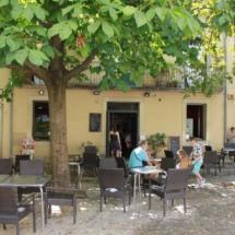 Paseo por Girona con niños
